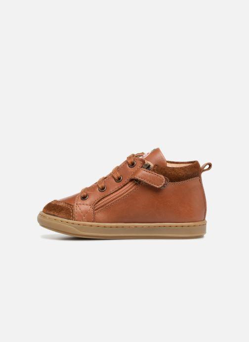 Boots en enkellaarsjes Shoo Pom Bouba Bi Zip Bruin voorkant