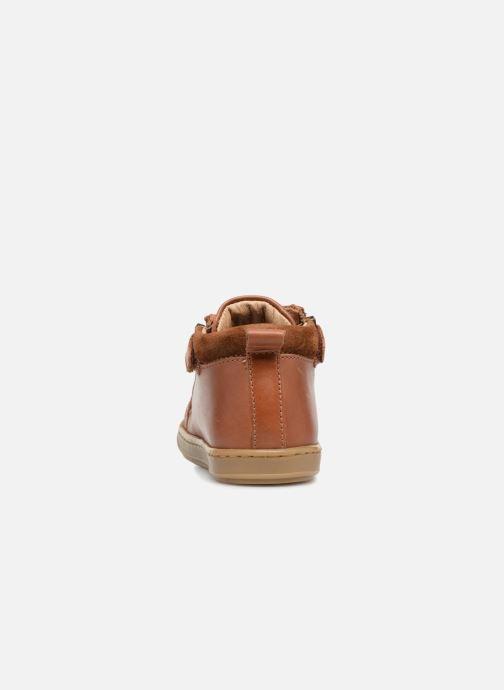 Boots en enkellaarsjes Shoo Pom Bouba Bi Zip Bruin rechts