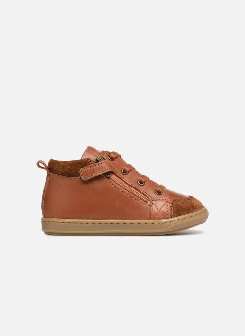 Boots en enkellaarsjes Shoo Pom Bouba Bi Zip Bruin achterkant