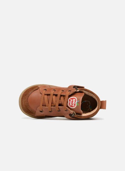 Boots en enkellaarsjes Shoo Pom Bouba Bi Zip Bruin links