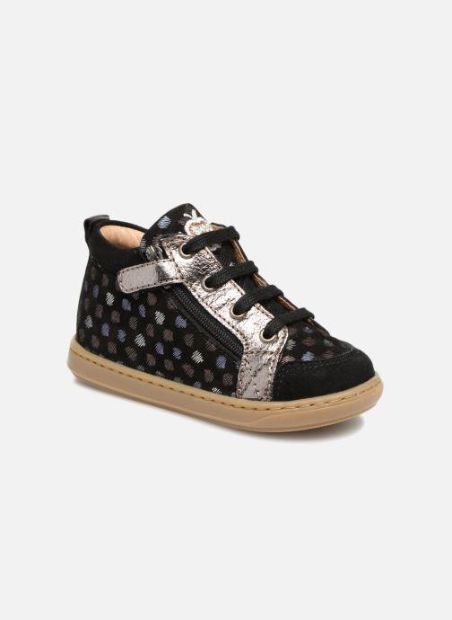 Bottines et boots Shoo Pom Bouba Bi Zip Noir vue détail/paire