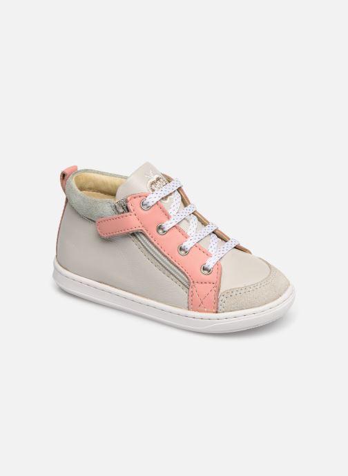 Ankelstøvler Shoo Pom Bouba Bi Zip Grå detaljeret billede af skoene