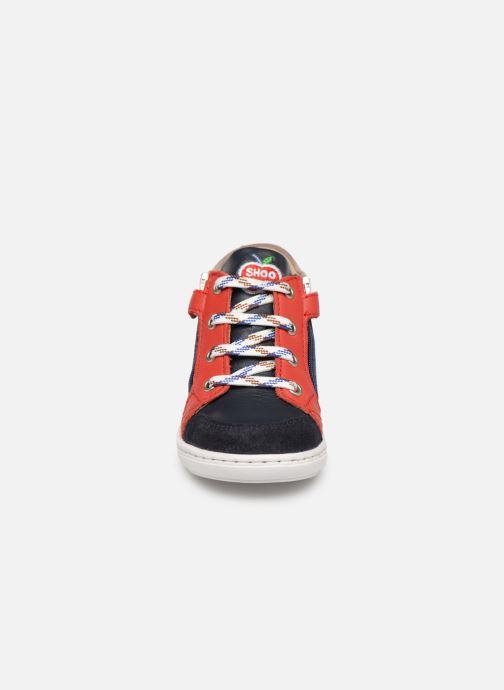 Bottines et boots Shoo Pom Bouba Bi Zip Multicolore vue portées chaussures