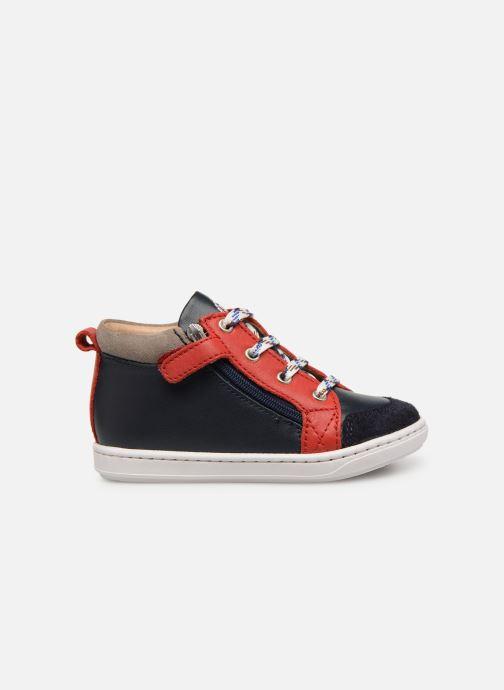 Bottines et boots Shoo Pom Bouba Bi Zip Multicolore vue derrière