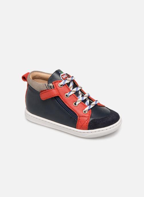 Bottines et boots Shoo Pom Bouba Bi Zip Multicolore vue détail/paire
