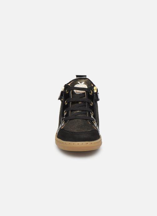 Bottines et boots Shoo Pom Bouba Bi Zip Or et bronze vue portées chaussures