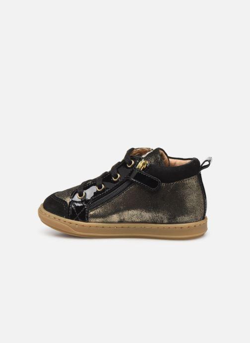 Bottines et boots Shoo Pom Bouba Bi Zip Or et bronze vue face