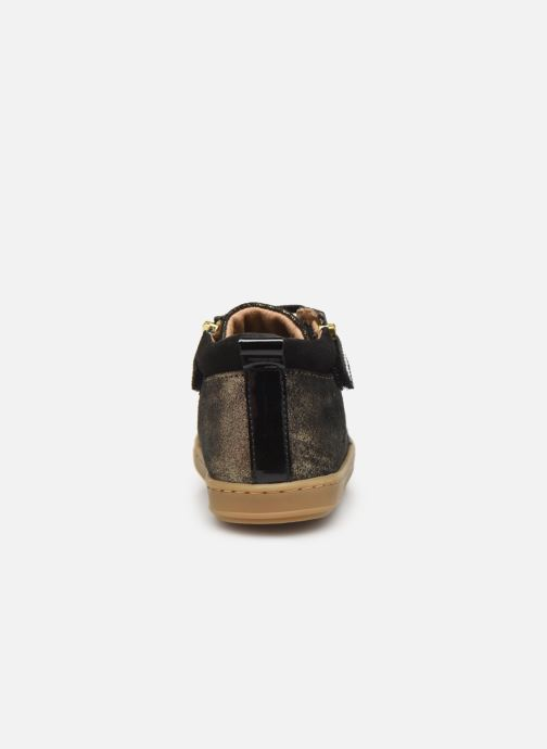 Bottines et boots Shoo Pom Bouba Bi Zip Or et bronze vue droite