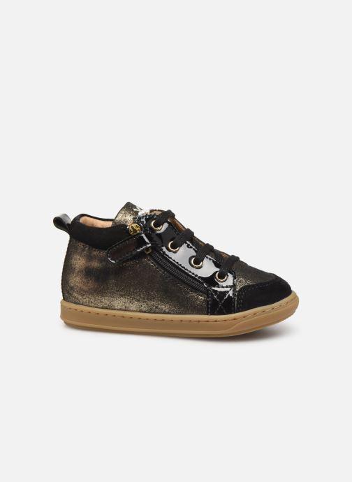 Bottines et boots Shoo Pom Bouba Bi Zip Or et bronze vue derrière