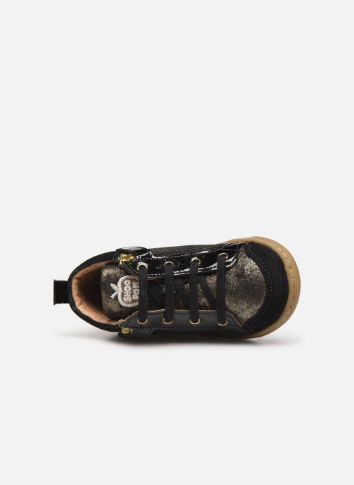 Bottines et boots Shoo Pom Bouba Bi Zip Or et bronze vue gauche