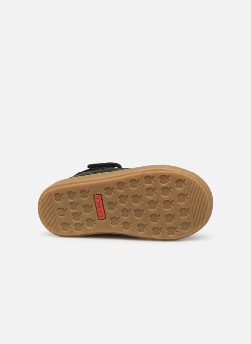 Bottines et boots Shoo Pom Bouba Bi Zip Or et bronze vue haut