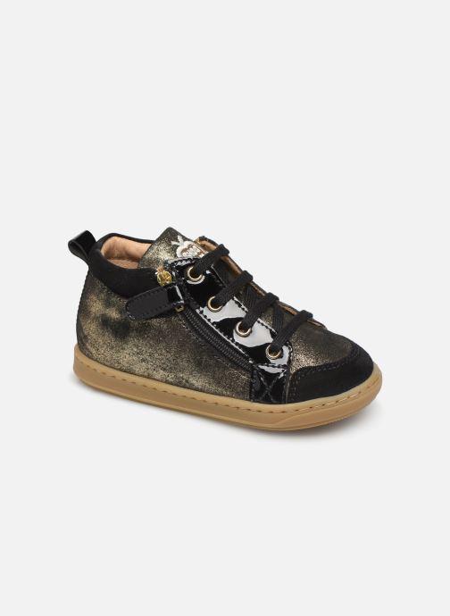 Bottines et boots Shoo Pom Bouba Bi Zip Or et bronze vue détail/paire