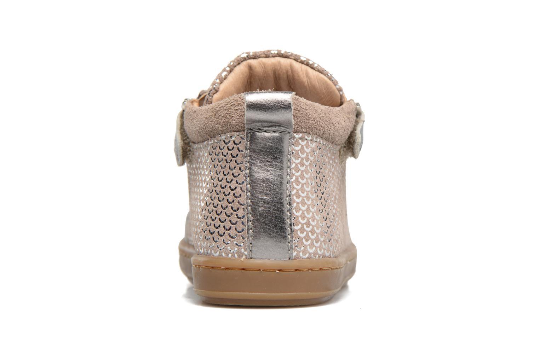 Bottines et boots Shoo Pom Bouba Bi Zip Rose vue droite