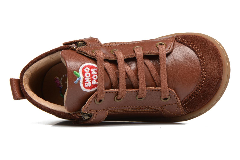 Bottines et boots Shoo Pom Bouba Bi Zip Marron vue gauche