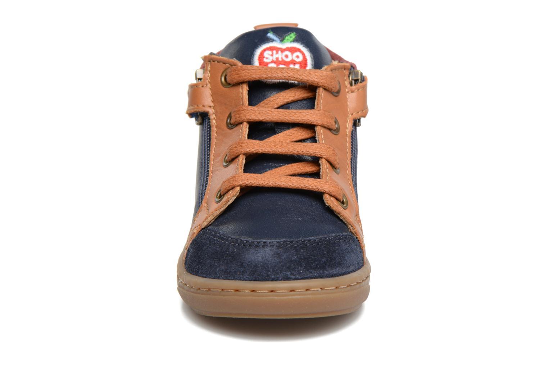 Bottines et boots Shoo Pom Bouba Bi Zip Bleu vue portées chaussures