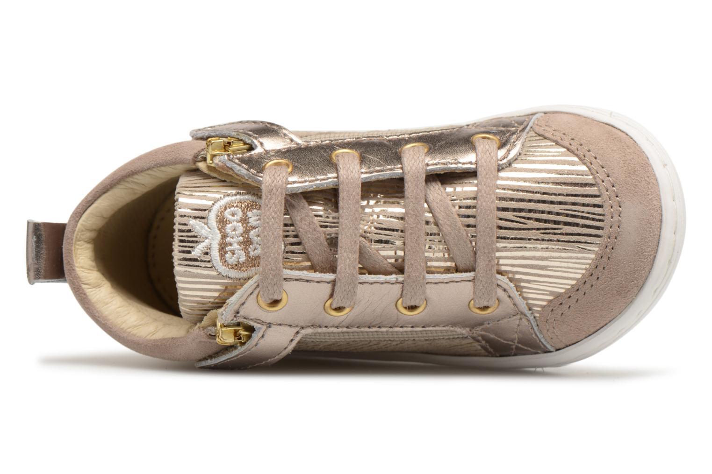 Boots en enkellaarsjes Shoo Pom Bouba Bi Zip Beige links