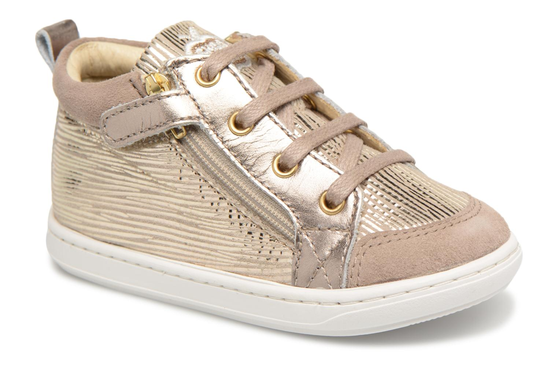 Boots en enkellaarsjes Shoo Pom Bouba Bi Zip Beige detail