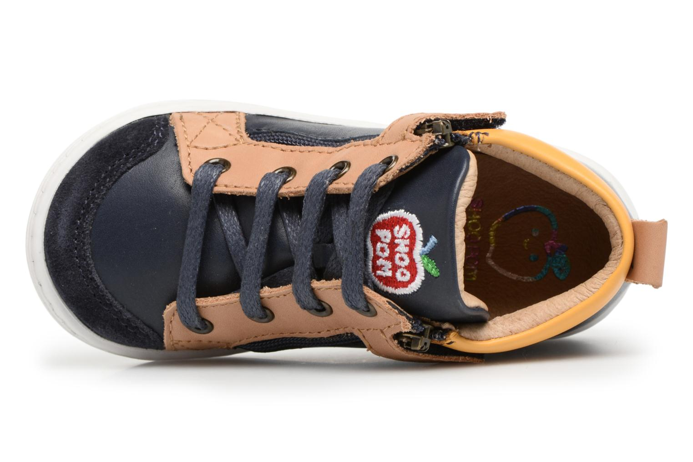 Bottines et boots Shoo Pom Bouba Bi Zip Bleu vue gauche