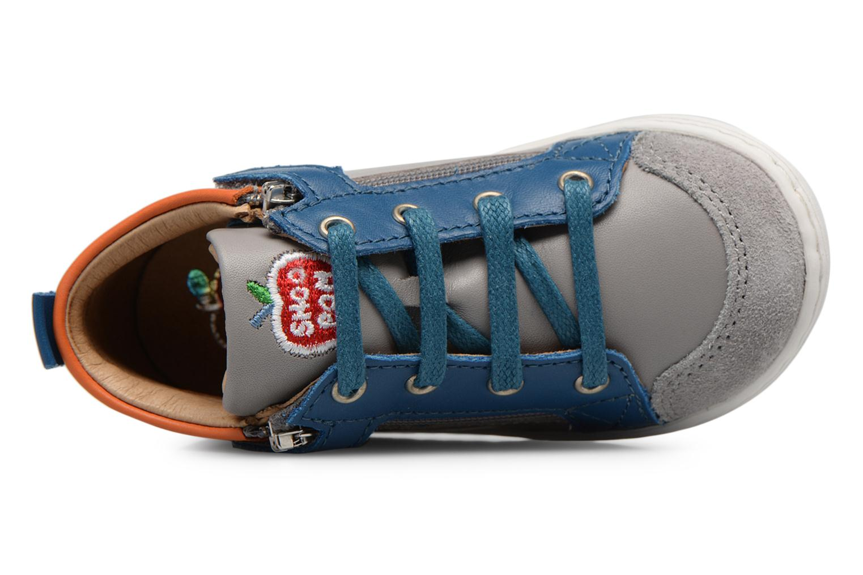 Ankle boots Shoo Pom Bouba Bi Zip Grey view from the left