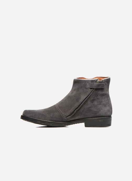 Ankle boots Shwik TIJUANA BIDING Grey front view