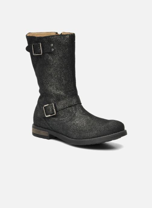 Støvler & gummistøvler Shwik WACO MID BOTTE Sort detaljeret billede af skoene