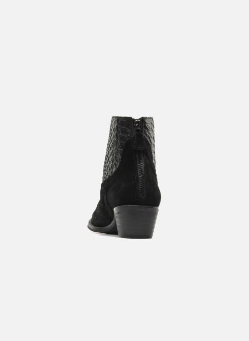 Bottines et boots Méliné Ydille Noir vue droite