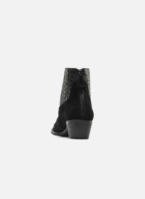 Boots en enkellaarsjes Méliné Ydille Zwart rechts
