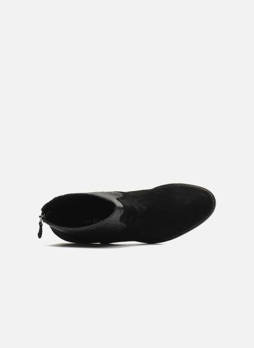 Bottines et boots Méliné Ydille Noir vue gauche
