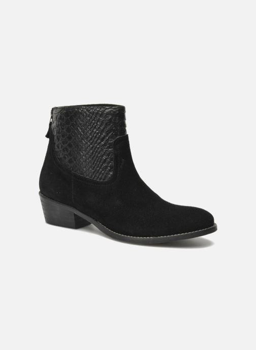 Bottines et boots Méliné Ydille Noir vue détail/paire