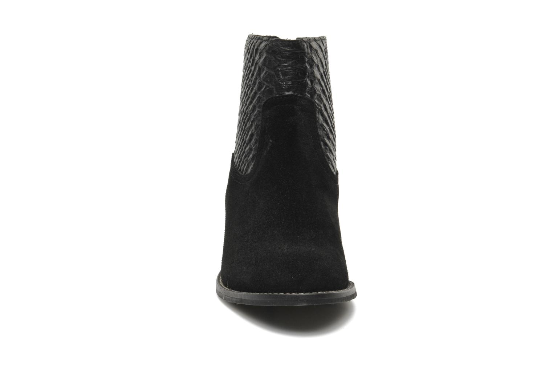 Bottines et boots Méliné Ydille Noir vue portées chaussures