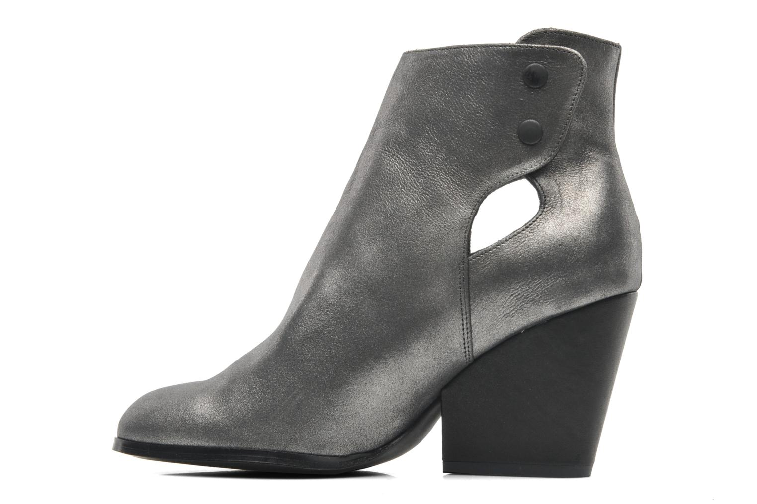 Ankle boots Bocage Marthe Grey front view