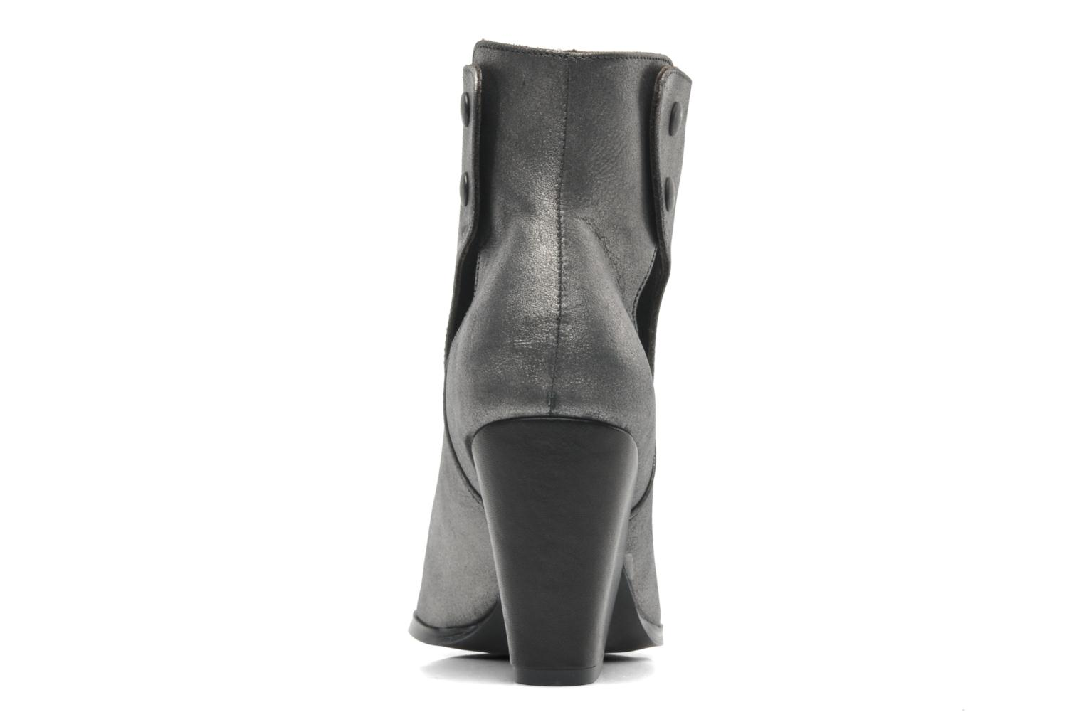 Ankle boots Bocage Marthe Grey view from the right