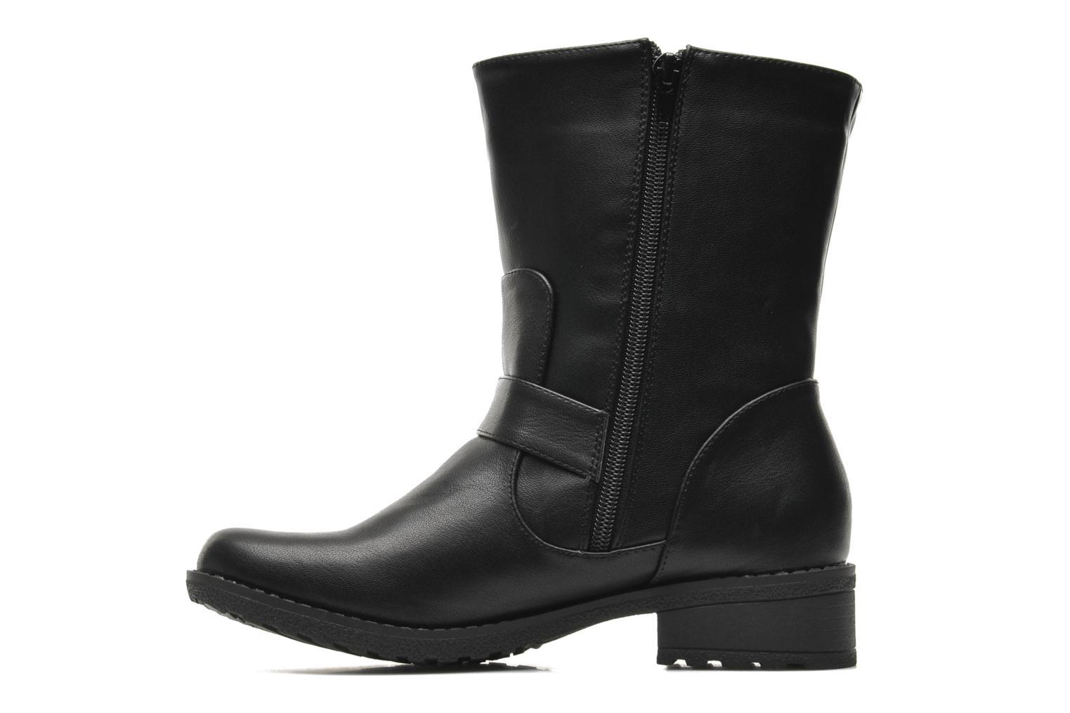 Bottines et boots Buffalo Ballisté Noir vue face