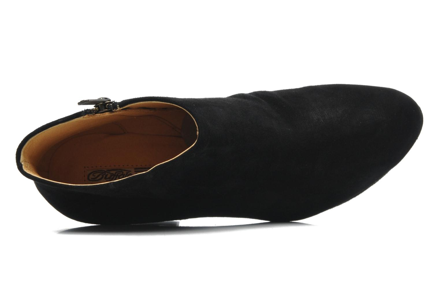 Ankle boots Buffalo Ballasur Black view from the left