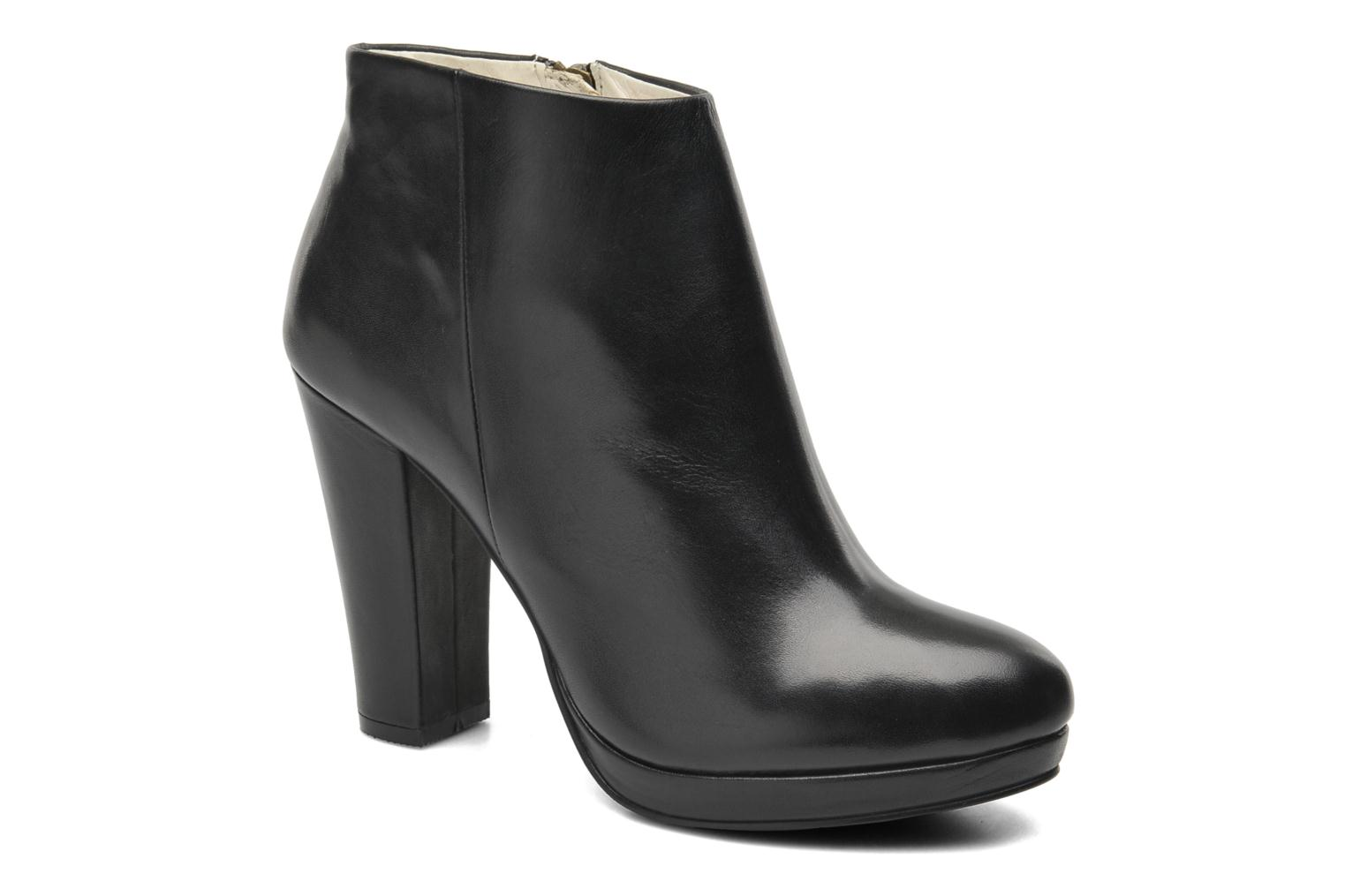 Ankle boots Buffalo Lafille Black detailed view/ Pair view