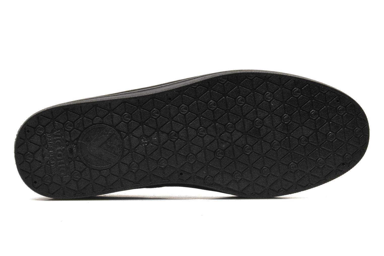 Zapatos con cordones Victoria Blucher Antelina Plataforma Negro vista de arriba