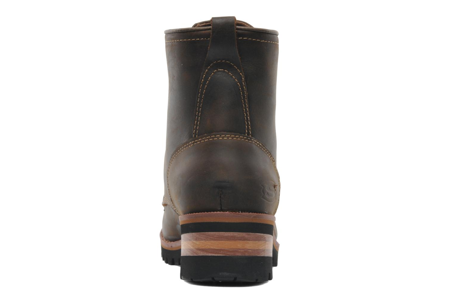 Ankle boots Skechers Laramie 2 47808 Brown view from the right