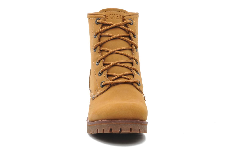 Boots en enkellaarsjes Skechers Laramie 2 47808 Bruin model