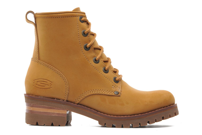 Boots en enkellaarsjes Skechers Laramie 2 47808 Bruin achterkant