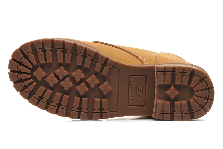 Boots en enkellaarsjes Skechers Laramie 2 47808 Bruin boven