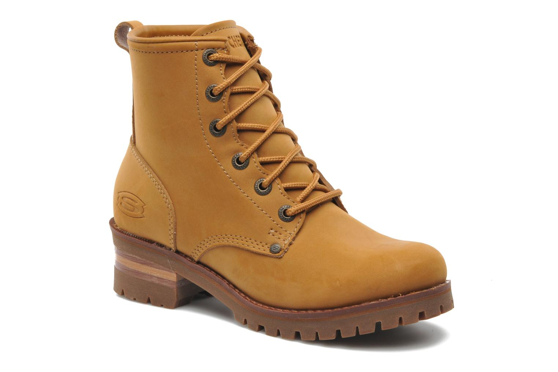 Boots en enkellaarsjes Skechers Laramie 2 47808 Bruin detail