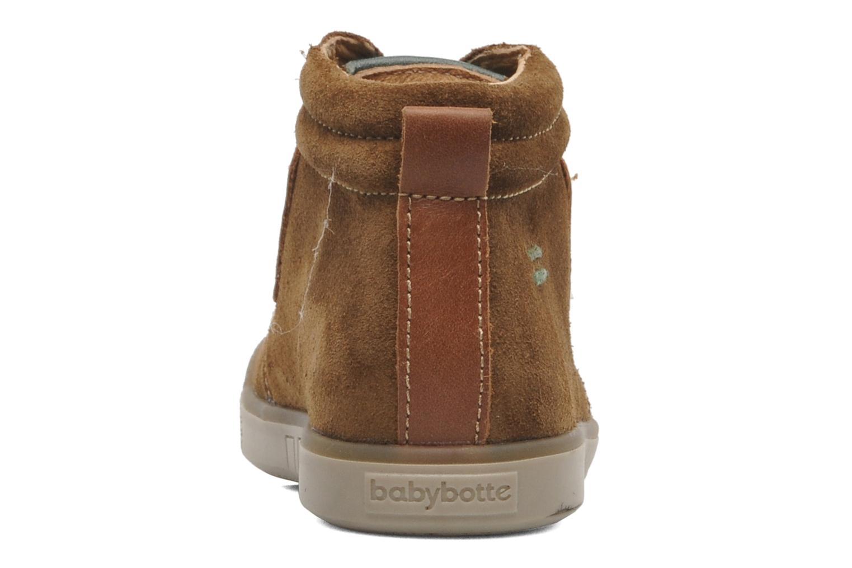 Bottines et boots Babybotte ATLAS Marron vue droite