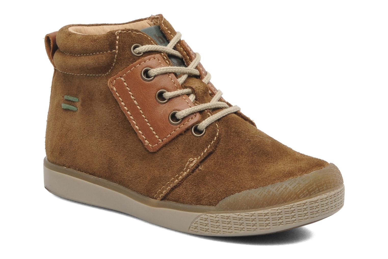 Bottines et boots Babybotte ATLAS Marron vue détail/paire