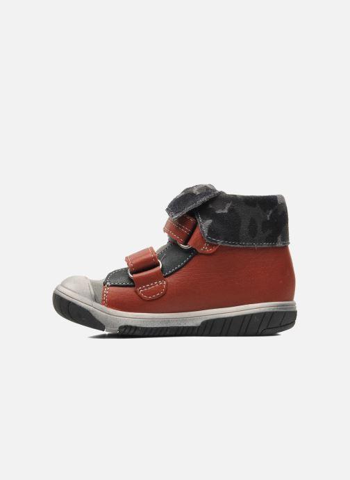 Schoenen met klitteband Babybotte ARTIZOU Rood voorkant
