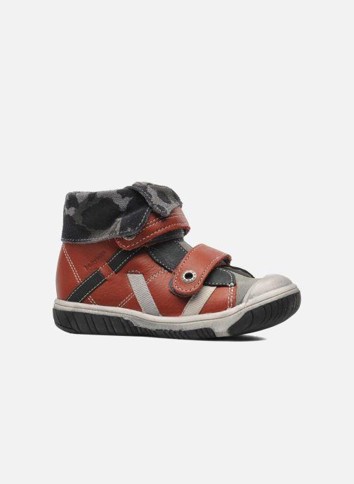 Schoenen met klitteband Babybotte ARTIZOU Rood achterkant