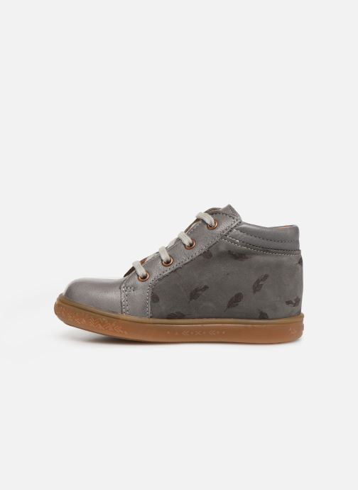 Ankle boots Babybotte ALOUETTE Grey front view
