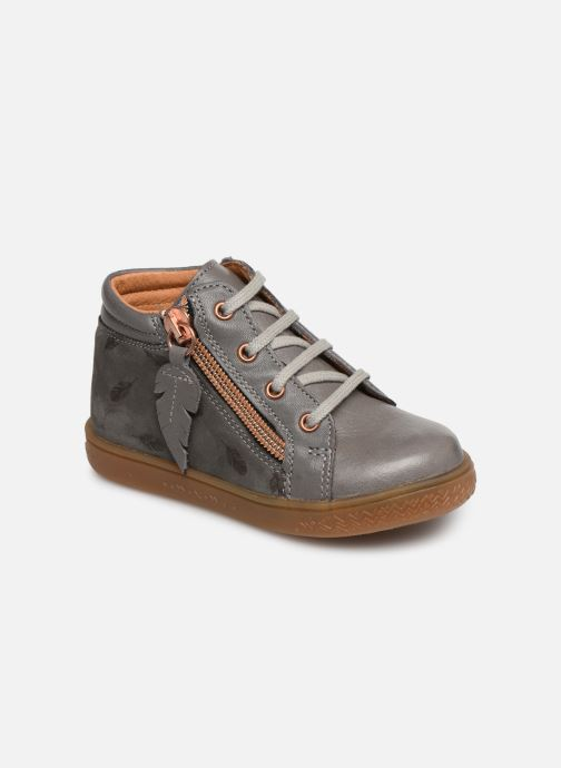 Ankle boots Babybotte ALOUETTE Grey detailed view/ Pair view