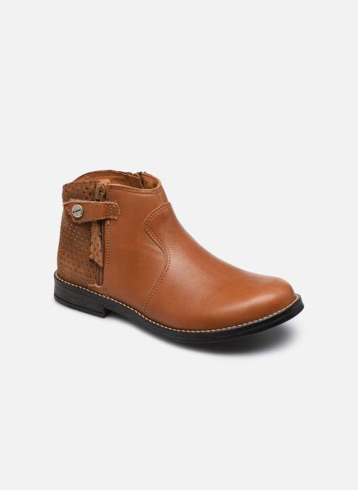 Bottines et boots Babybotte Kenza Marron vue détail/paire