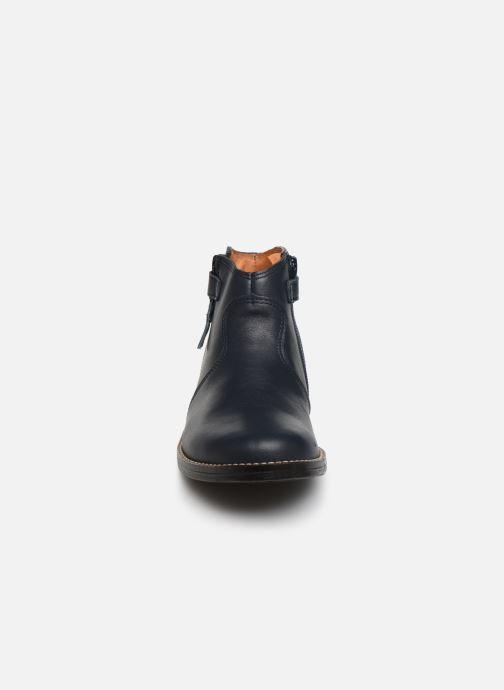 Bottines et boots Babybotte Kenza Bleu vue portées chaussures