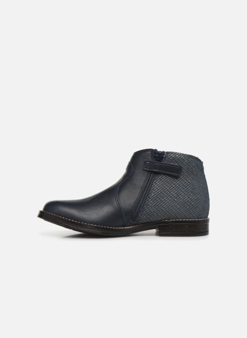 Ankle boots Babybotte Kenza Blue front view